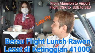Berau Flight untuk pertama kali, from Mansion to Airport CGK to SUB and to BEJ