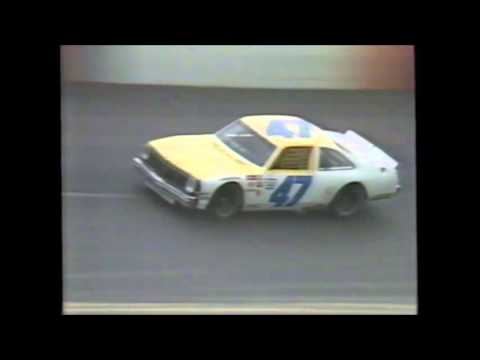 1984 Dixie Cup 200 Finish - Darlington Raceway