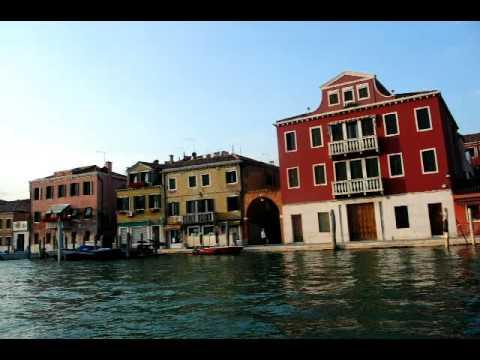 Murano Island Canal, Venice Italy