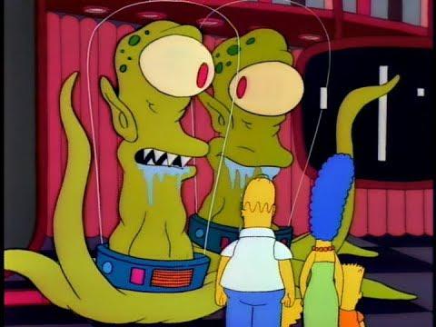 Simpsons Histories - Kang and Kodos