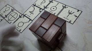 THE GRAVITY CUBE PUZZLE SOLAR SYSTEM LOCKING&UNLOCKING