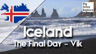 our iceland vlog saga final day glaciers black beaches and black death