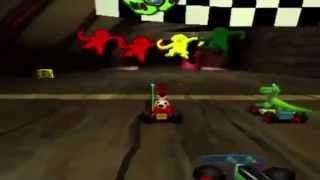 Toy Story Racer [PS1] - Gameplay