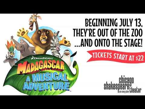 The Cast of Madagascar – A Musical Adventure
