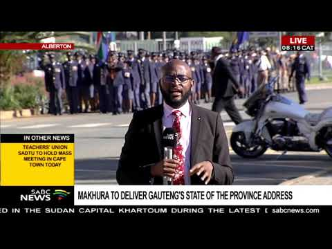 Makhura to deliver Gauteng's State Of the Province Address