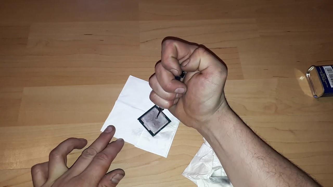 Flüssigmetall Cpu