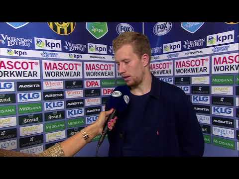 Roda JC Kerkrade - Vitesse 18 augustus 2017 [Simon Gustafson interview]