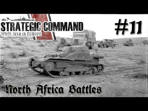 Strategic Command WWII: War in Europe - Germany 11 North Africa Battles