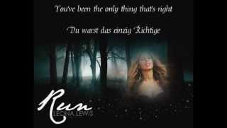 Leona Lewis - Run (Englisch Deutsch Übersetzung)(, 2013-06-02T19:39:53.000Z)