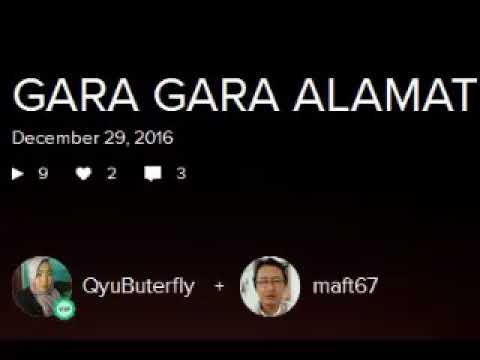 GARA GARA ALAMAT -- duet dangdut lama oleh :  MAFT & QyuButerfly