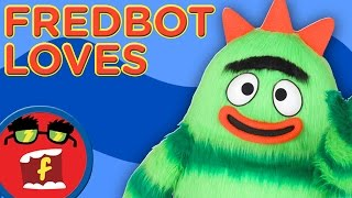 Yo Gabba Gabba Top 10 Things Fredbot Loves