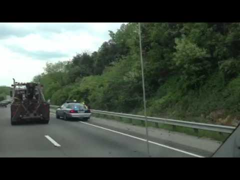 Interstate 81 accident near Troutville Virginia
