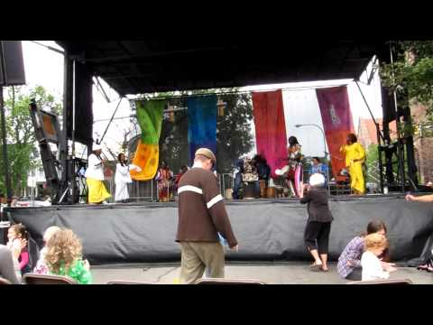 Jama Jama at the Elmwood Avenue Festival of the Arts 2011