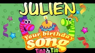 Tina&Tin Happy Birthday JULIEN