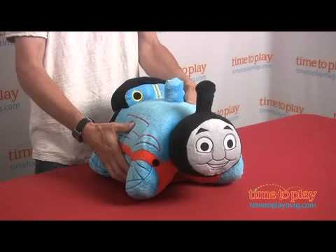 Thomas and Friends Pillow Pets from CJ Products - YouTube