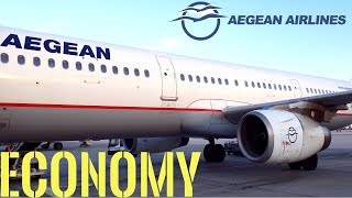 AEGEAN AIRLINES REVIEW - ATHENS TO LONDON