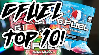 TOP 10 GFUEL FLAVORS AS OF Q1 2021!!!