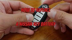 Nissan Key Fob Battery Change - How To DIY Learning Tutorials