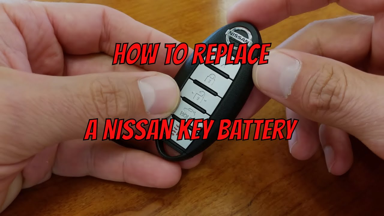 Nissan Key Fob Battery Change   How To DIY Learning Tutorials   YouTube