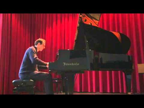 Tim Sund - solo piano: Some Other Time (Bernstein)