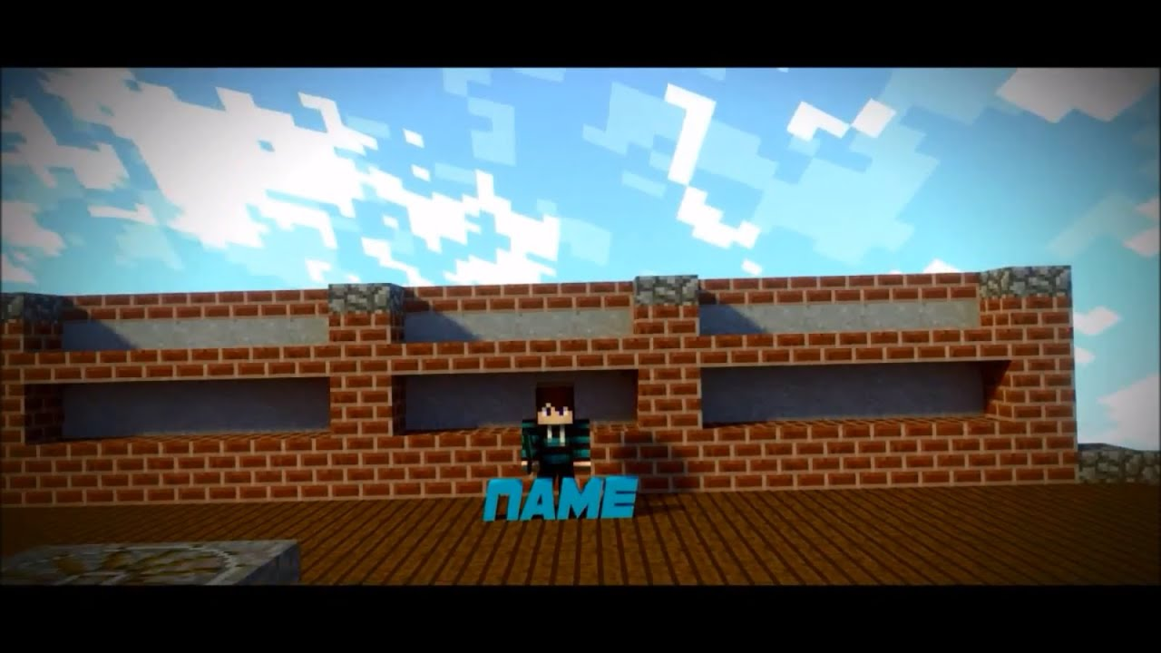 Minecraft Intro Video Maker - Biteable