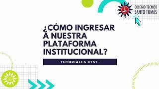 Ingresar a Plataforma de COLEGIOSONLINE.COM