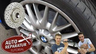 Bremsscheiben wechseln | gelochte Bremsscheiben von Zimmermann montieren | DIY Tutorial