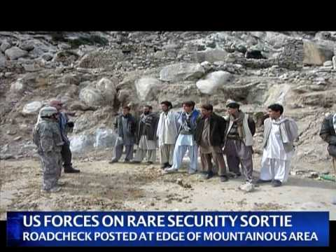 US troops scanning retinas in Afghan province