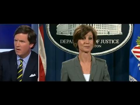 Tucker Carlson Interviews Stephen Miller , Attorney General Sally Yates Fired
