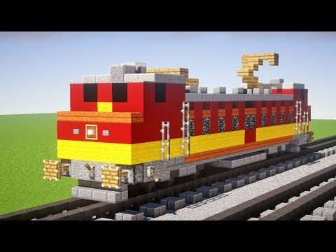 Minecraft WAP-4 Indian Locomotive Tutorial
