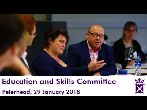 Education and Skills Committee (Audio Only) - 29 January 2018