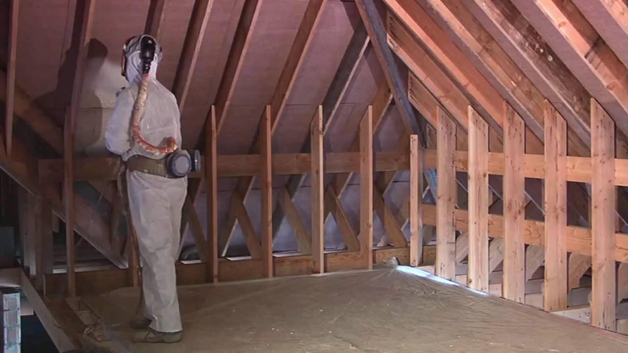 isolation toiture mousse polyur thane partie 1 youtube. Black Bedroom Furniture Sets. Home Design Ideas