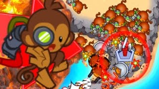 Bloons TD Battles - BOOMERANG GANG! CAN IT DEFEND?! - Bloons TD Battles Strategy