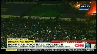 Video Raw Video: Egypt Soccer Fans Riot Before Match 74 dead download MP3, 3GP, MP4, WEBM, AVI, FLV Desember 2017
