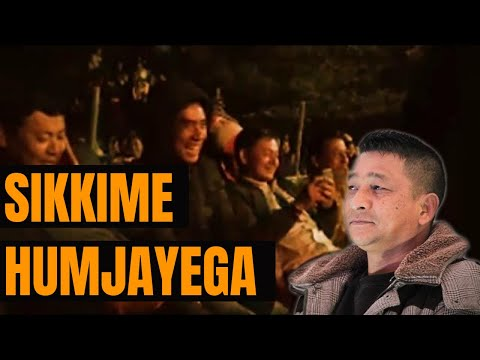 sikkim humjayega jokes  Dilip Gurung at Kalimpong part 3