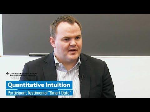 "Quantitative Intuition: Participant Testimonial ""Smart Data"""