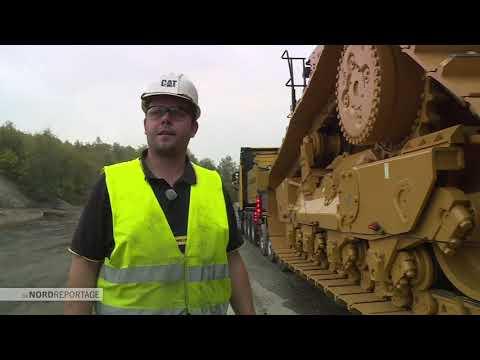 Baumaschinen XXL - Vom Hafen in den Steinbruch | Die Nordreportage | NDR Doku
