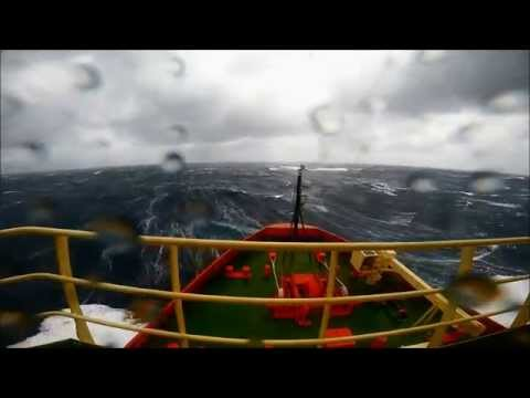 Aboard an icebreaker in the Southern Ocean (NSF-MBL-Stanford)