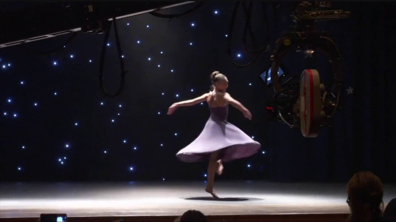 Maddie Ziegler dancing in The Book of ...