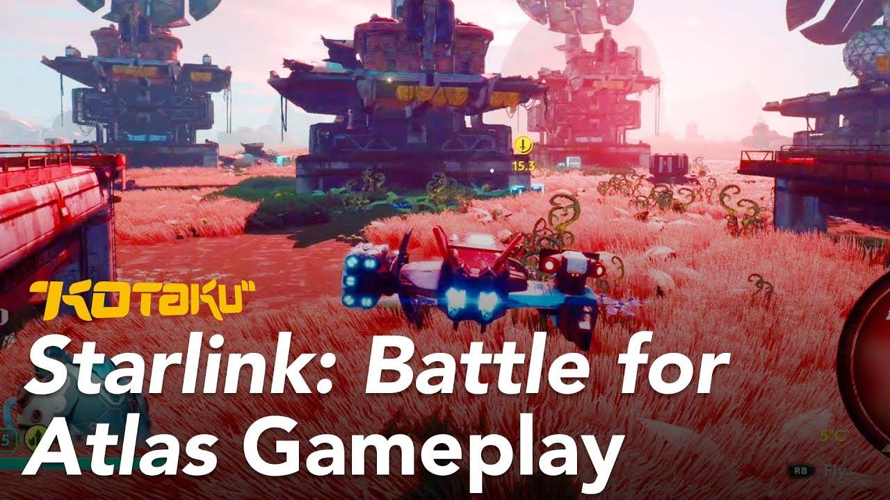 Starlink: Battle for Atlas Gameplay E3 2018