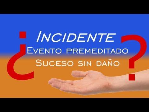 ¿Cuál es la diferencia entre accidente e incidente? | ¿Son lo mismo?  | Don Prevención