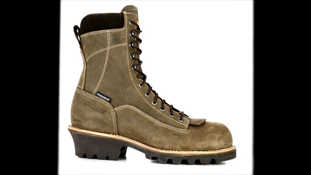 ca5e4926d5f Mens Carolina 8 Inch Composite Toe Waterproof Logger Work Boot CA7522 @  Steel-Toe-Shoes.com
