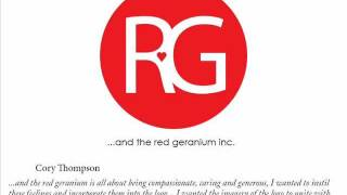 "Bendigo TAFE -  Graphic Design - ""and the red geranium inc..."""