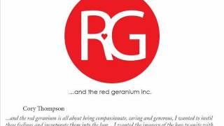 """Bendigo TAFE -  Graphic Design - """"and the red geranium inc..."""""""