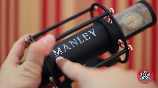Manley Reference Cardioid Microphone In Action