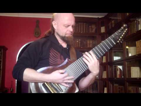 Rob Guz improvising to Sol Niger Within (F. Thordendal) on 11-stringed guitar – just for fun
