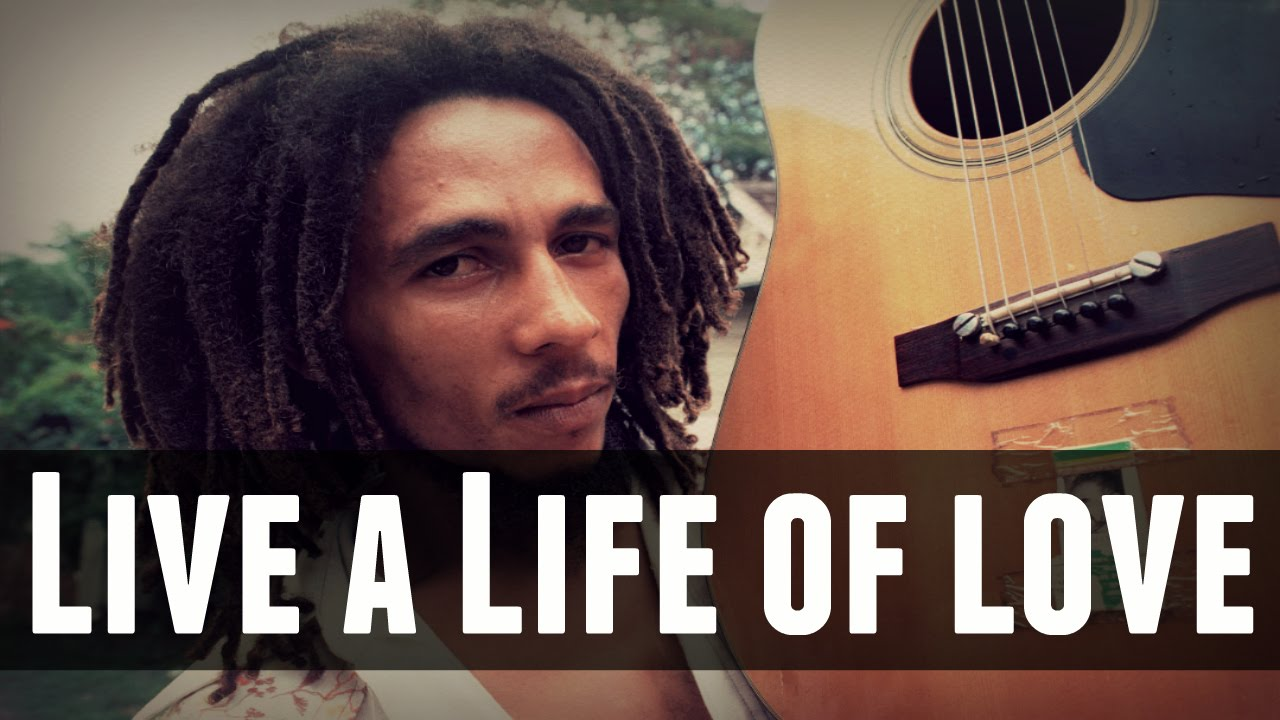 Bob Marley Live a Life of Love Rare Acoustic