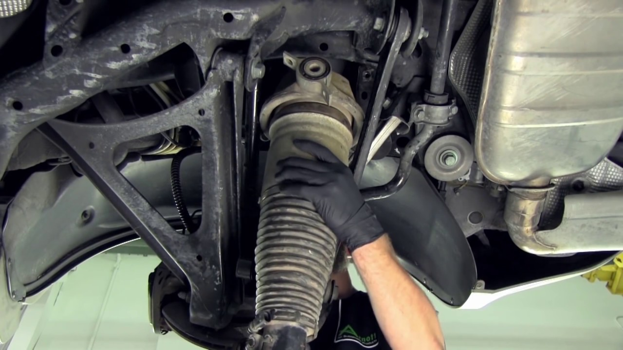 Convert Your Porsche Cayenne Air Suspension to Coil Springs  YouTube