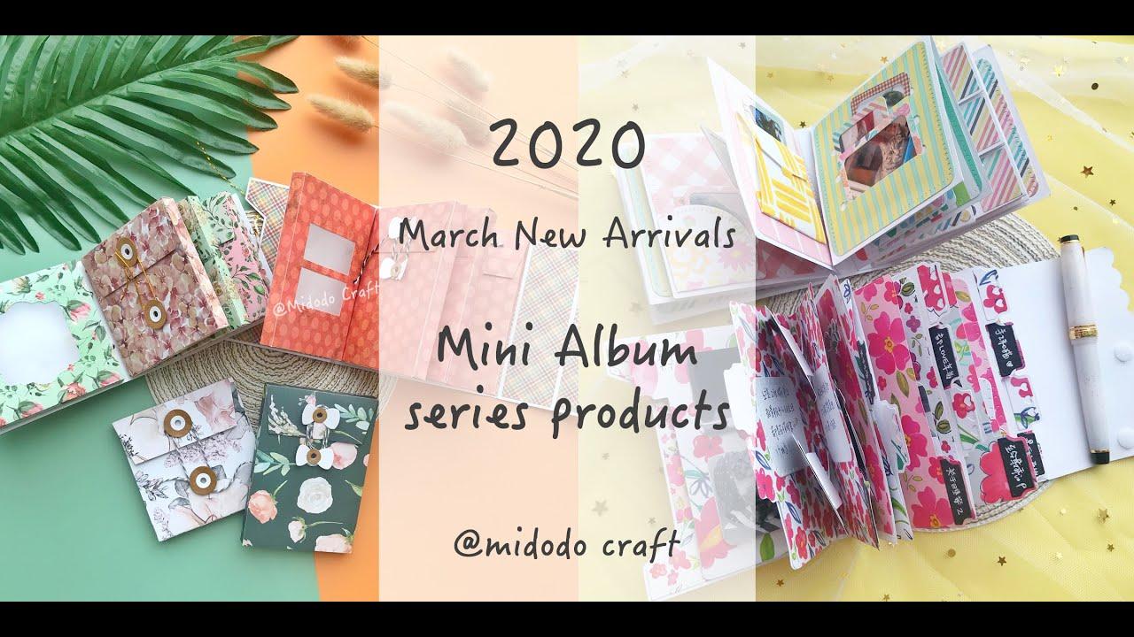 2020  Midodo March New Arrival  Mini Album  Dies sharing(aliexpress Haul)