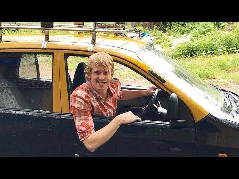 Taxi drivers at railway stations | 2 Foreigners In Bollywood